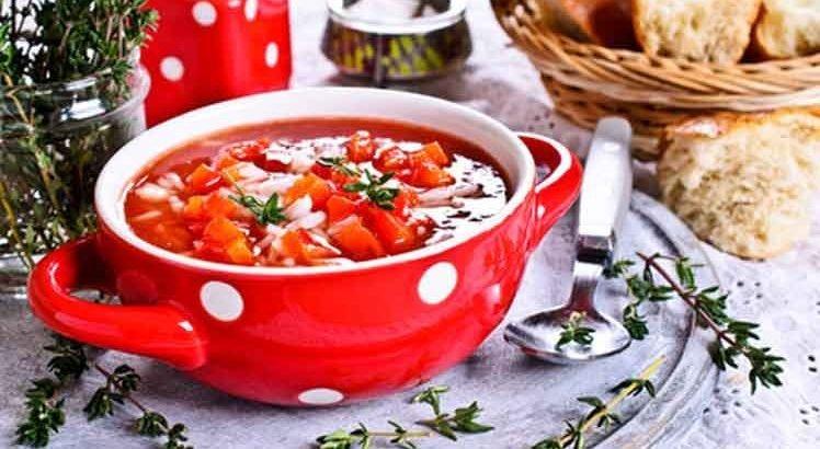 Groente Tomatensoep